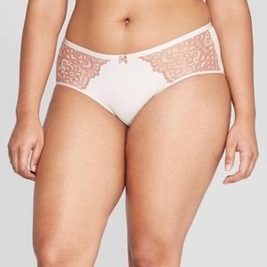 Auden Bonded Micro Hipster with Lace/3 pair set